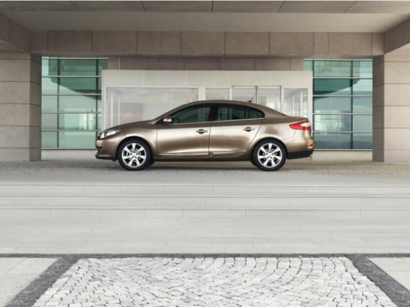 renault fluence sedan. The Renault Fluence is